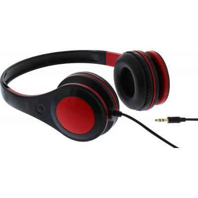 T`nB Dotcom Red Headphones