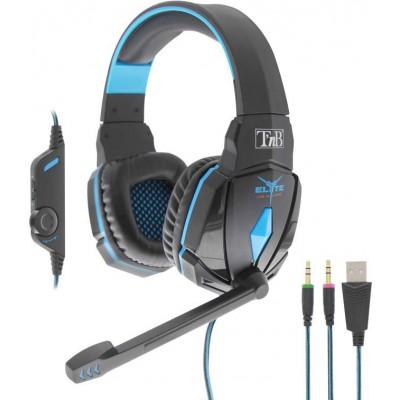 T`nB Elyte Black Gaming Headset