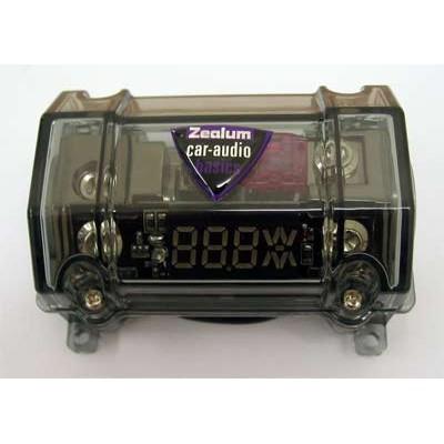 ZEALUM ZDFB-1 ANL Fuse Holder / Digital Volt Meter