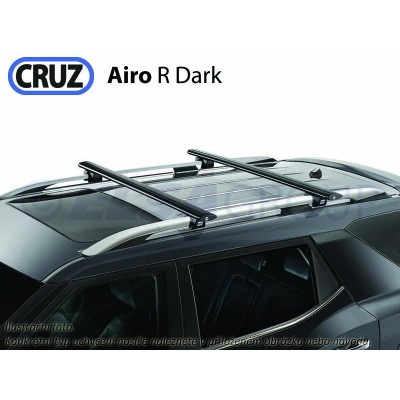 Střešní nosič Hyundai i20 Active 5d (s podélníky), CRUZ Airo-R Dark