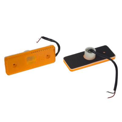 Boční obrysové světlo LED, oranžové 24V