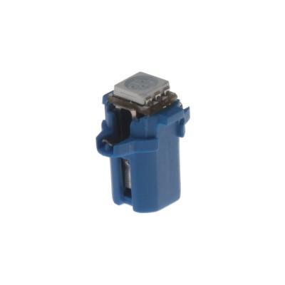 Mini LED B8,3 žárovka do palubní desky modrá/3SMD