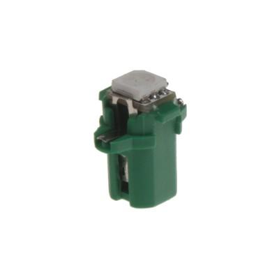 Mini LED B8,3 žárovka do palubní desky zelená/3SMD