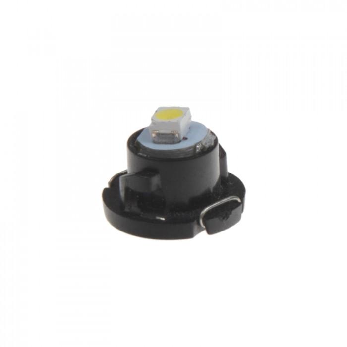 Mini LED T4,7 žárovka do palubní desky bílá, 1LED/1210SMD