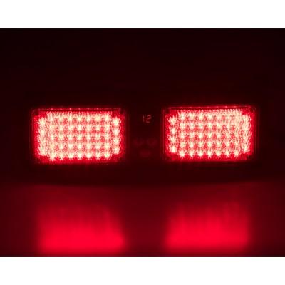 PREDATOR dual LED vnitřní, 12V, červený