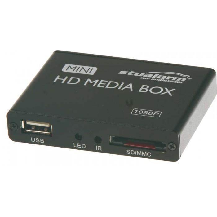 USB/SD/MMC HD multimediální přehrávač, české menu