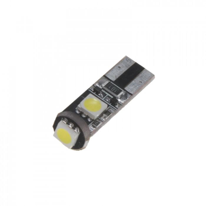 LED žárovka 12V T10, 3LED/3SMD