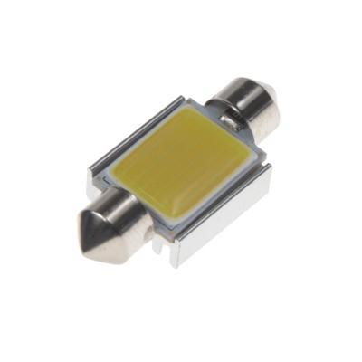 COB LED žárovka 12V s paticí sufit (36mm)