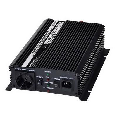 Autonabíječka 12V/2A + měnič 1200W 12/220V, UPS