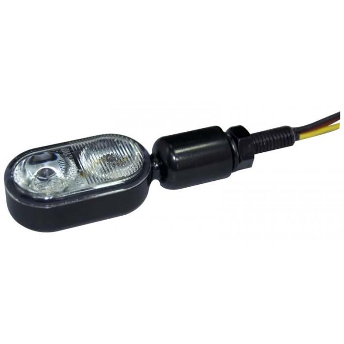 Poziční/směrová světla na motocykl 12V, homologace