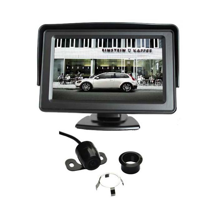 Parkovací set - kamera s 4,3&quot, monitorem