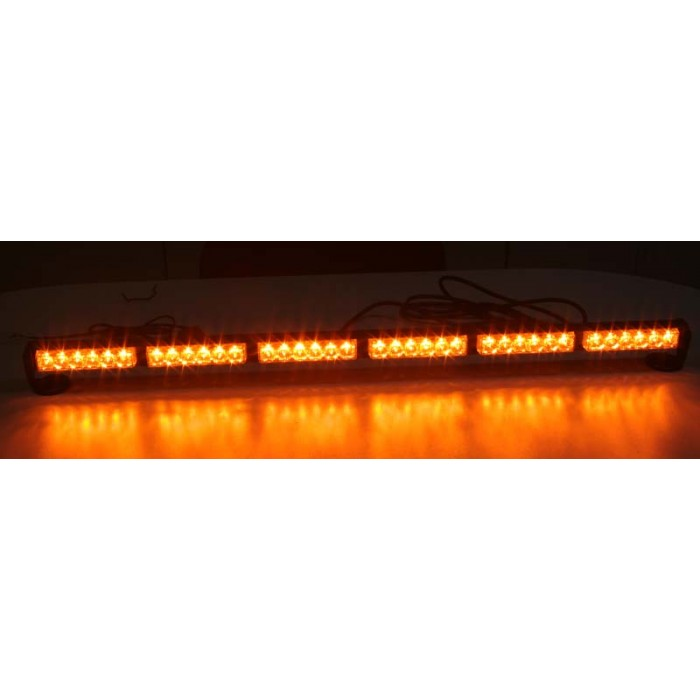 LED světelná alej, 36x 1W LED, oranžová 950mm