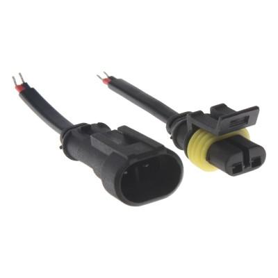 profesionální vodotěsný konektor 2-pólový