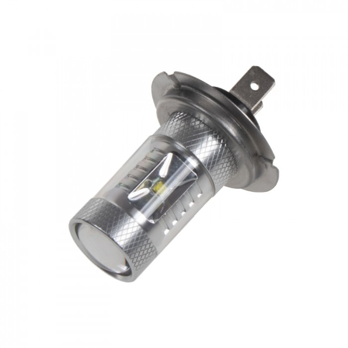 CREE LED H7 12-24V, 30W (6x5W) bílá