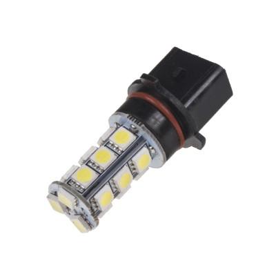 LED žárovka 12V s paticí P13W, 18LED/3SMD