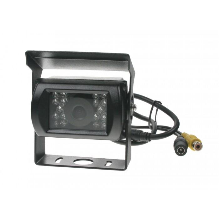 Kamera CCD s IR světlem, 12/24 V, PAL