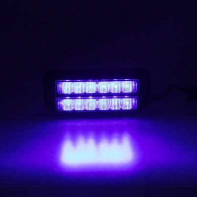 PREDATOR dual 12x1W LED, 12-24V, modrý, ECE R10