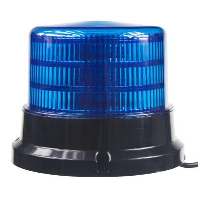 PROFI LED maják 12-24V 36x0,5W modrý magnet ECE R65 167x132mm