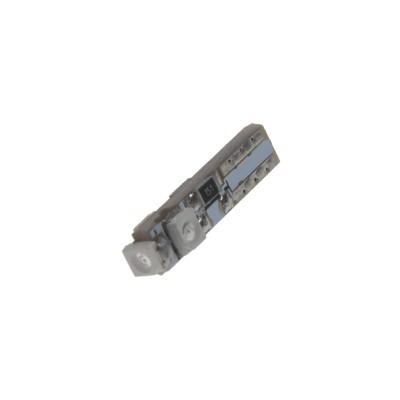 LED žárovka 12V s paticí T5 modrá, 3LED/SMD