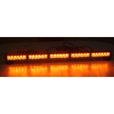 LED světelná alej, 30x 1W LED, oranžová 800mm
