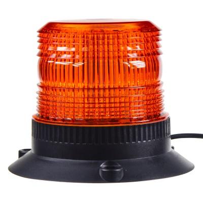 Zábleskový maják, 12-110V, oranžový magnet