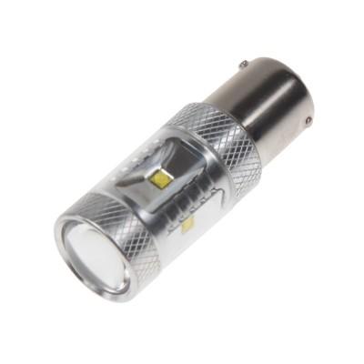 CREE LED BAU15S 12-24V, 30W (6x5W) bílá