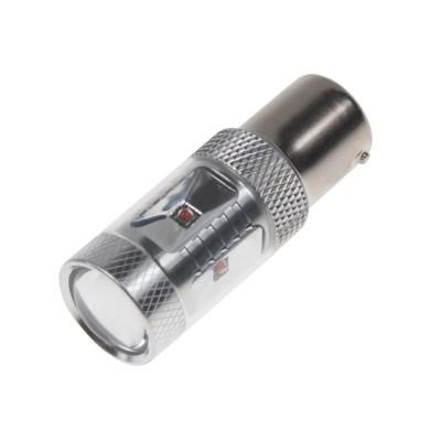CREE LED BAU15S 12-24V, 30W (6x5W) oranžová