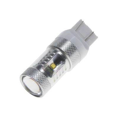 CREE LED T20 (7443) 12-24V, 30W (6x5W) bílá