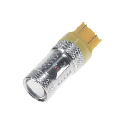 CREE LED T20 (7443) 12-24V, 30W (6x5W) oranžová