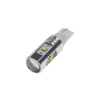 CREE LED T10 12-24V, 25W (5x5W) bílá