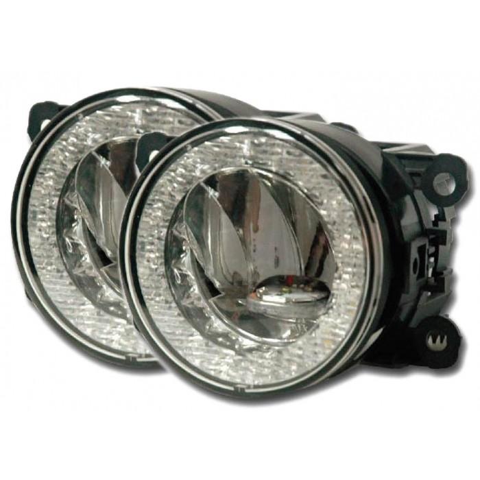 Mlhová světla/světla denního svícení/poziční světla 3x homologace