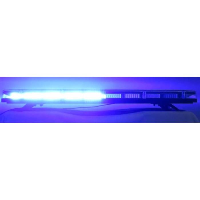 LED světelná rampa, modrá, 12-24V, homologace