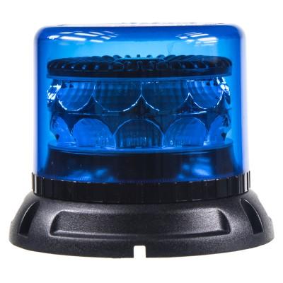 PROFI LED maják 12-24V 24x3W modrý ECE R65 133x86mm