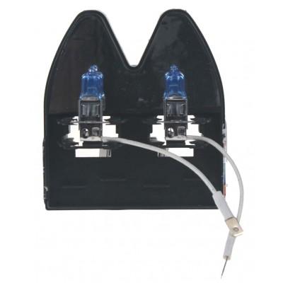 Halogen. žárovka 12V s paticí H3, Blue white 4300K 100W