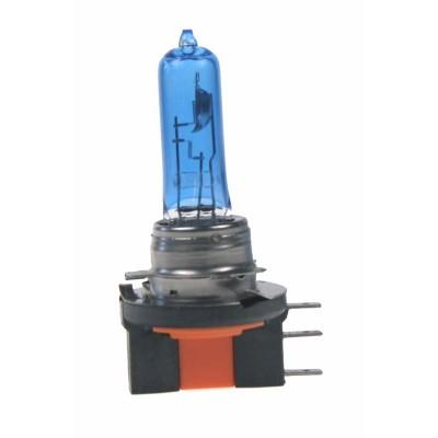 Halogen. žárovka 12V s paticí H15, Blue white 4300K
