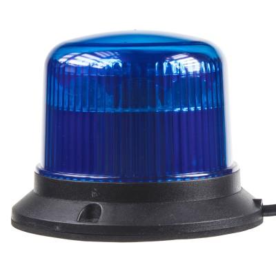 PROFI LED maják 12-24V 10x3W modrý ECE R65 121x90mm