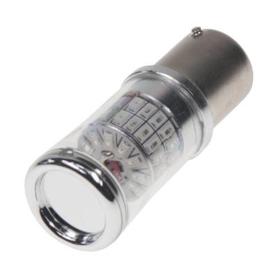 TURBO LED 12-24V s paticí BA15S, 48W oranžová