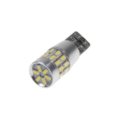 LED T10 bílá, 12V, 30LED/3014SMD