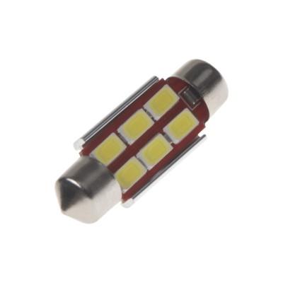 LED sufit (36mm) bílá, 24V, 6LED/5730SMD s chladičem