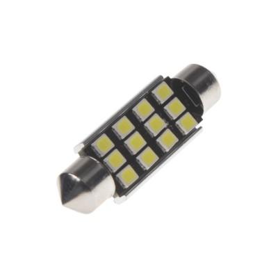 LED sufit (42mm) bílá, 12V, 12LED/2835SMD s chladičem