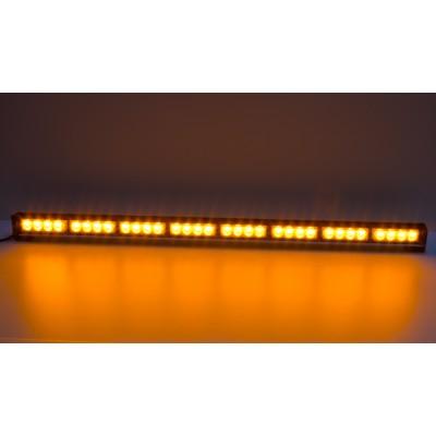 LED světelná alej, 32x 3W LED, oranžová 910mm, R10 R65