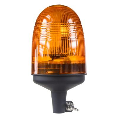 x Halogen maják, 12-24V, oranžový na držák, ECE R10