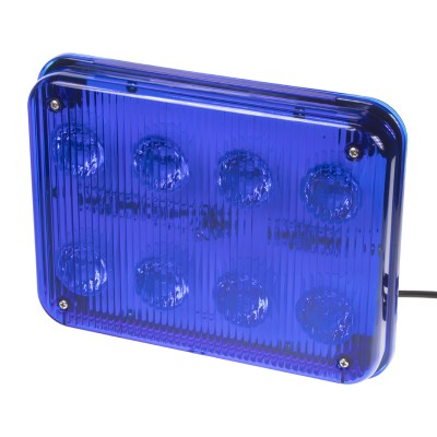 PREDATOR LED vnitřní, 12V, 8x 3W modrý