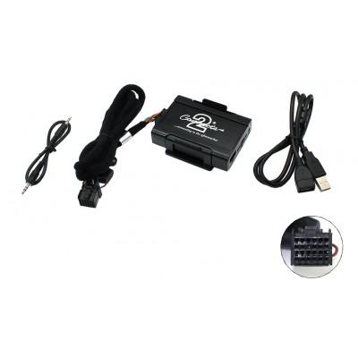 Adaptér pro ovládání USB zařízení OEM rádiem Ford 5000, 6000, Jaguar