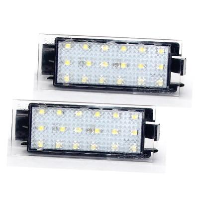 LED osvětlení SPZ do vozu Renault 2006-