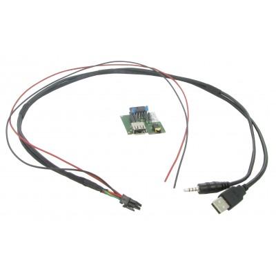 USB+JACK konektor Kia