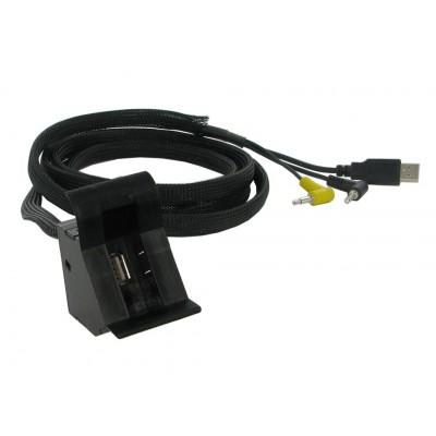 USB+JACK konektor Volkswagen
