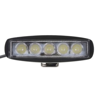 LED světlo na prac. stroje obdélníkové 10-30V, 6x3W