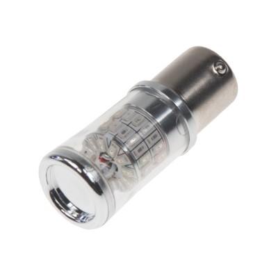 TURBO LED 12-24V s paticí BAU15S, 48W oranžová