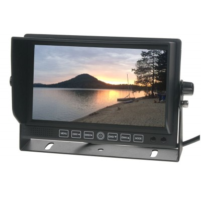 "Monitor 7"" se 4x4PIN vstup, DVR"